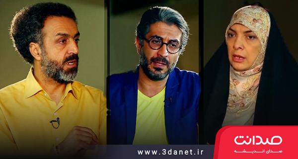 دکتر محسن رنانی، دکتر عفت السادات خویی و دکتر اکبر جباری