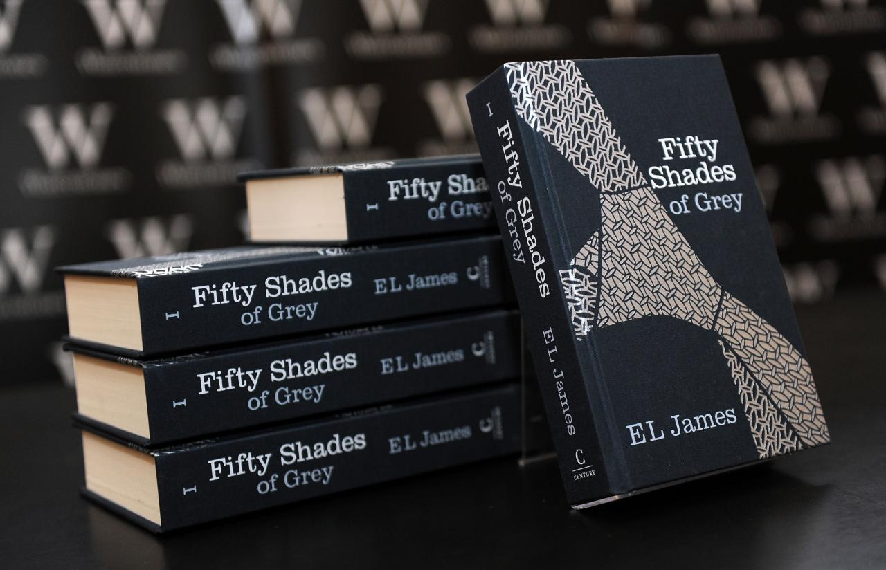 """Fifty Shades of Grey"" was the best-selling book of the deca"