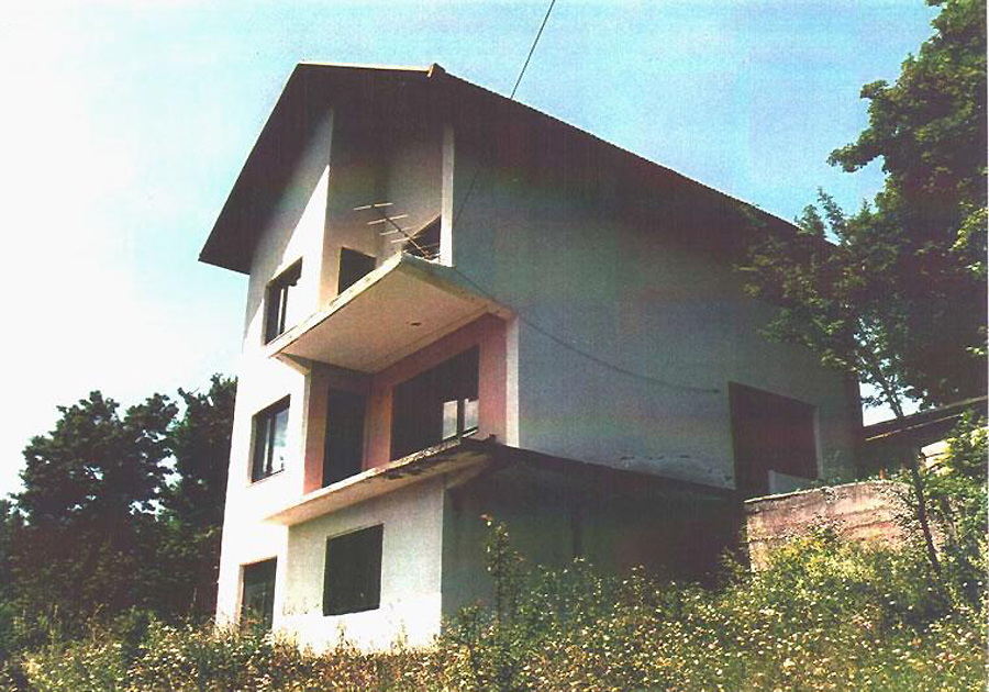 "Rape in the Bosnian War: ""Karaman's House"", a location where women were tortured and raped near Foča"