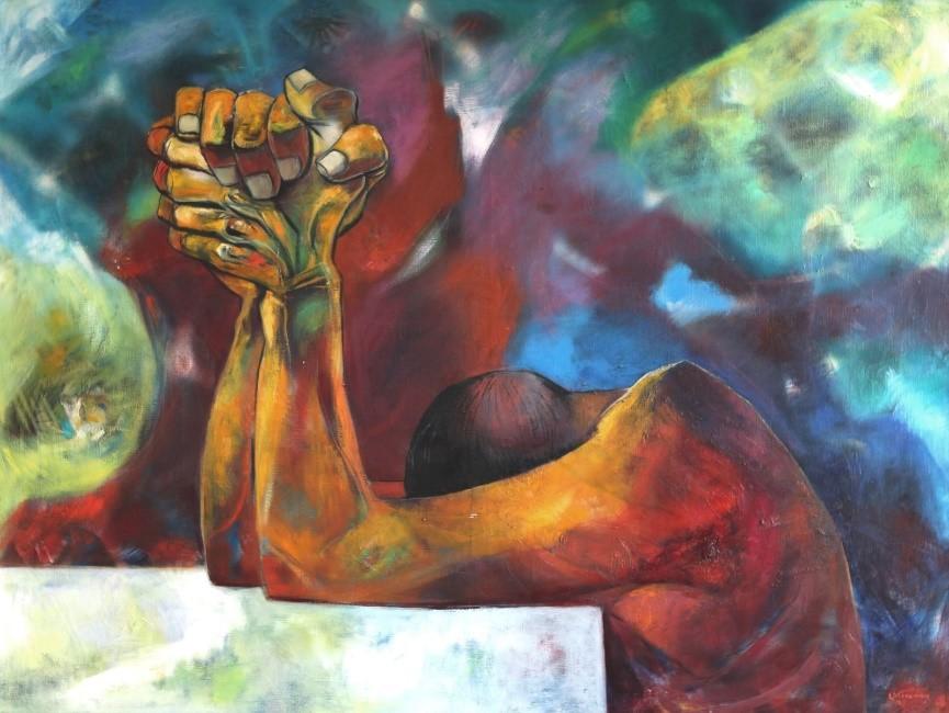تمامی آثار نقاشی استفاده شده در این نوشتار، از ادواردو کینگمن، نقاش اهل اکوادور است.